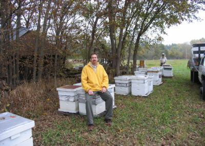 Bee yard, Open house, Christmas 2004