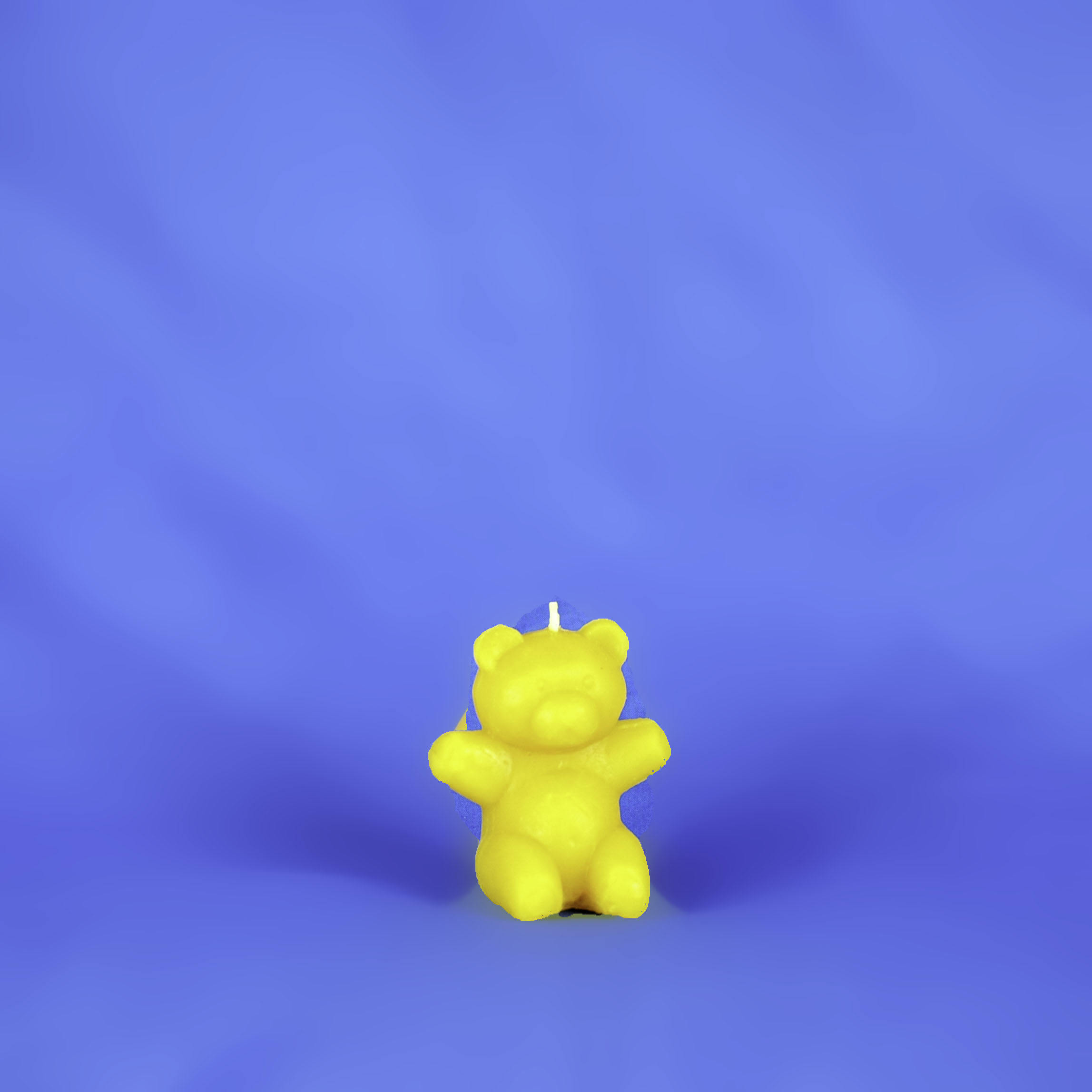 Beeswax Sitting Bear Candle