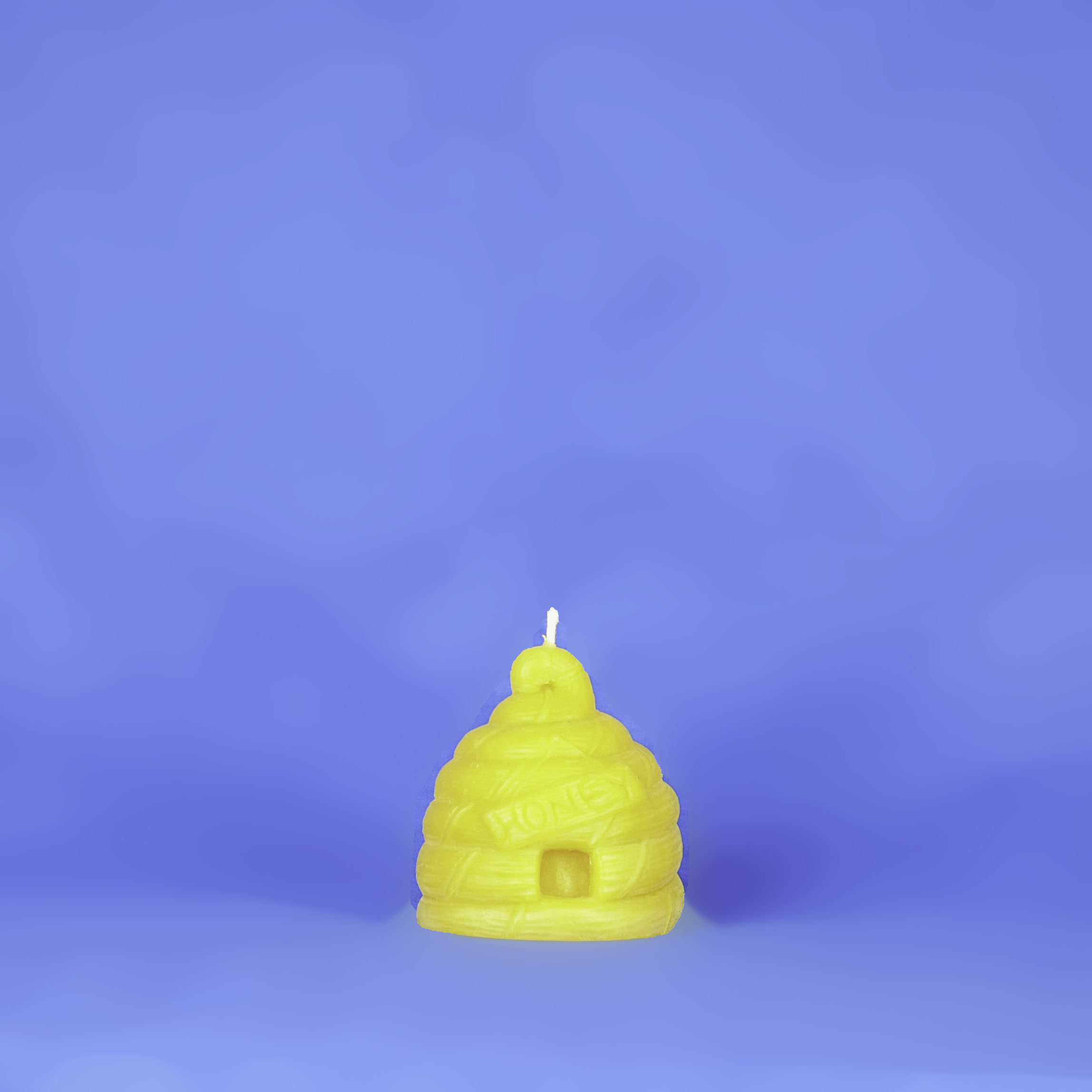 Beeswax Large Skep Candle