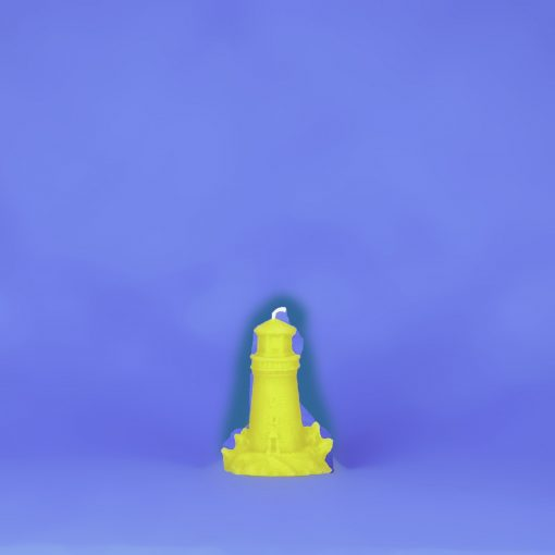 Beeswax Small Lighthouse Candle