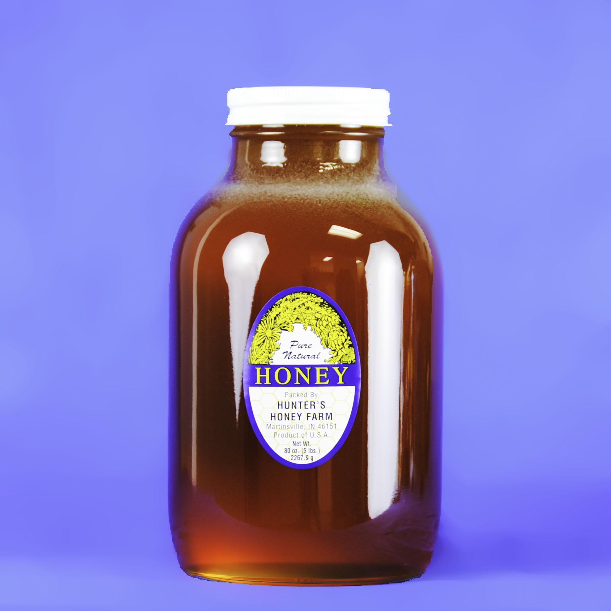 Wildflower Honey 5 lb Bottle