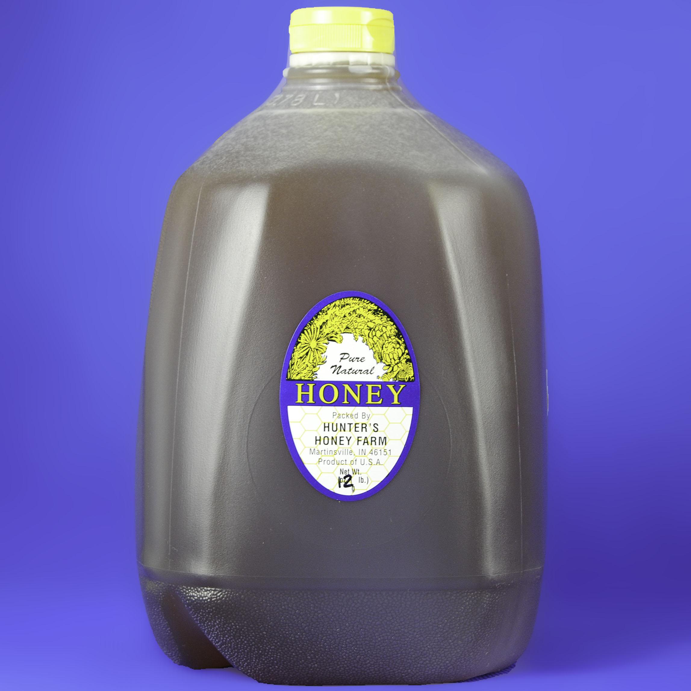 Clover Honey 12 lb (1 Gallon) Jug
