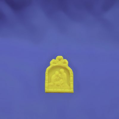 Beeswax Small Nativity Scene Ornament