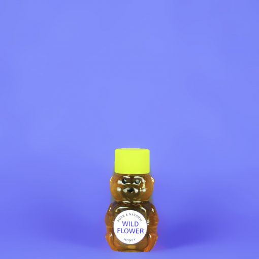 Wildflower Honey 2 oz Bear Bottle