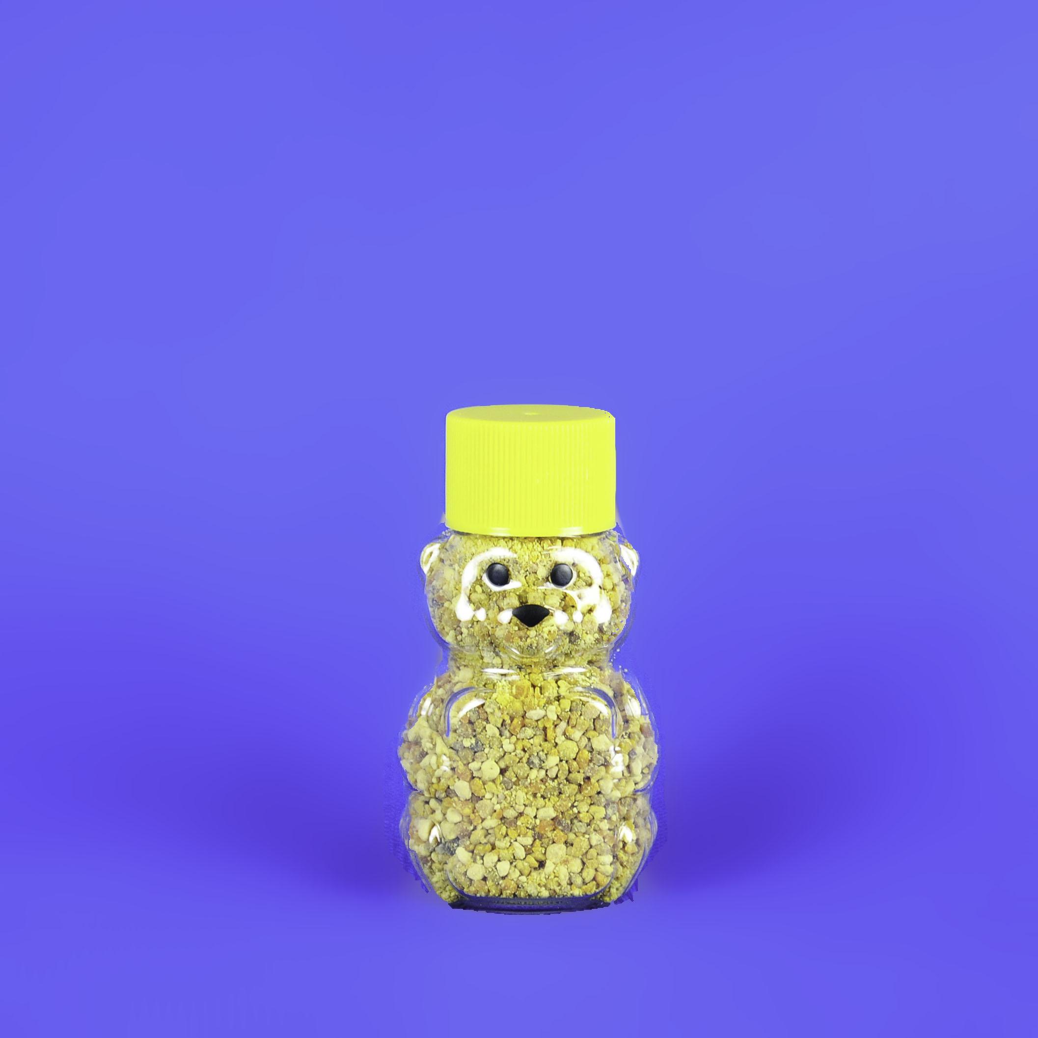 Bee Pollen 1 oz Bear Bottle