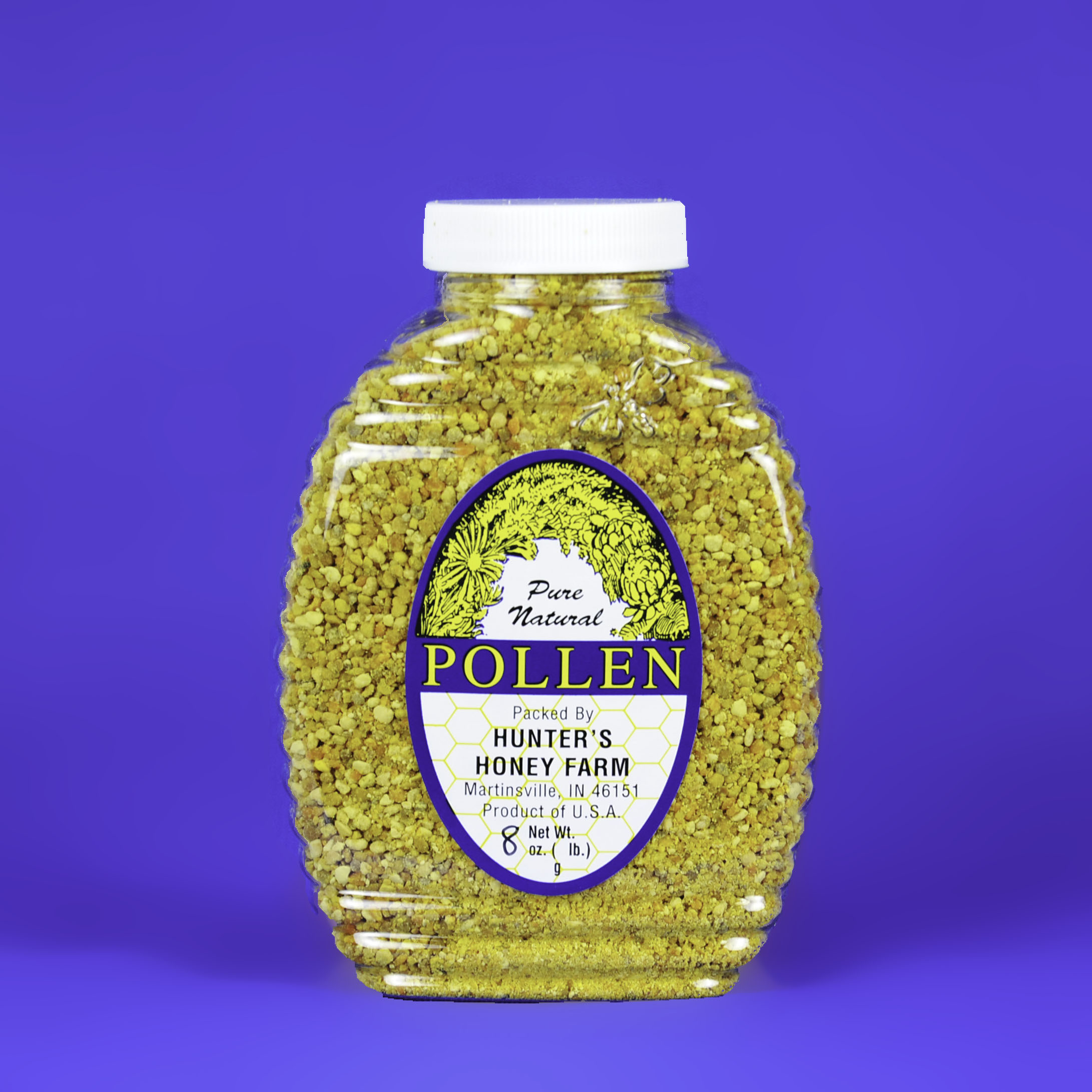 Bee Pollen 8 oz Bottle