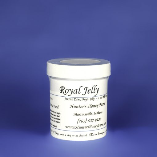 Royal Jelly Powder Honey, 2 oz
