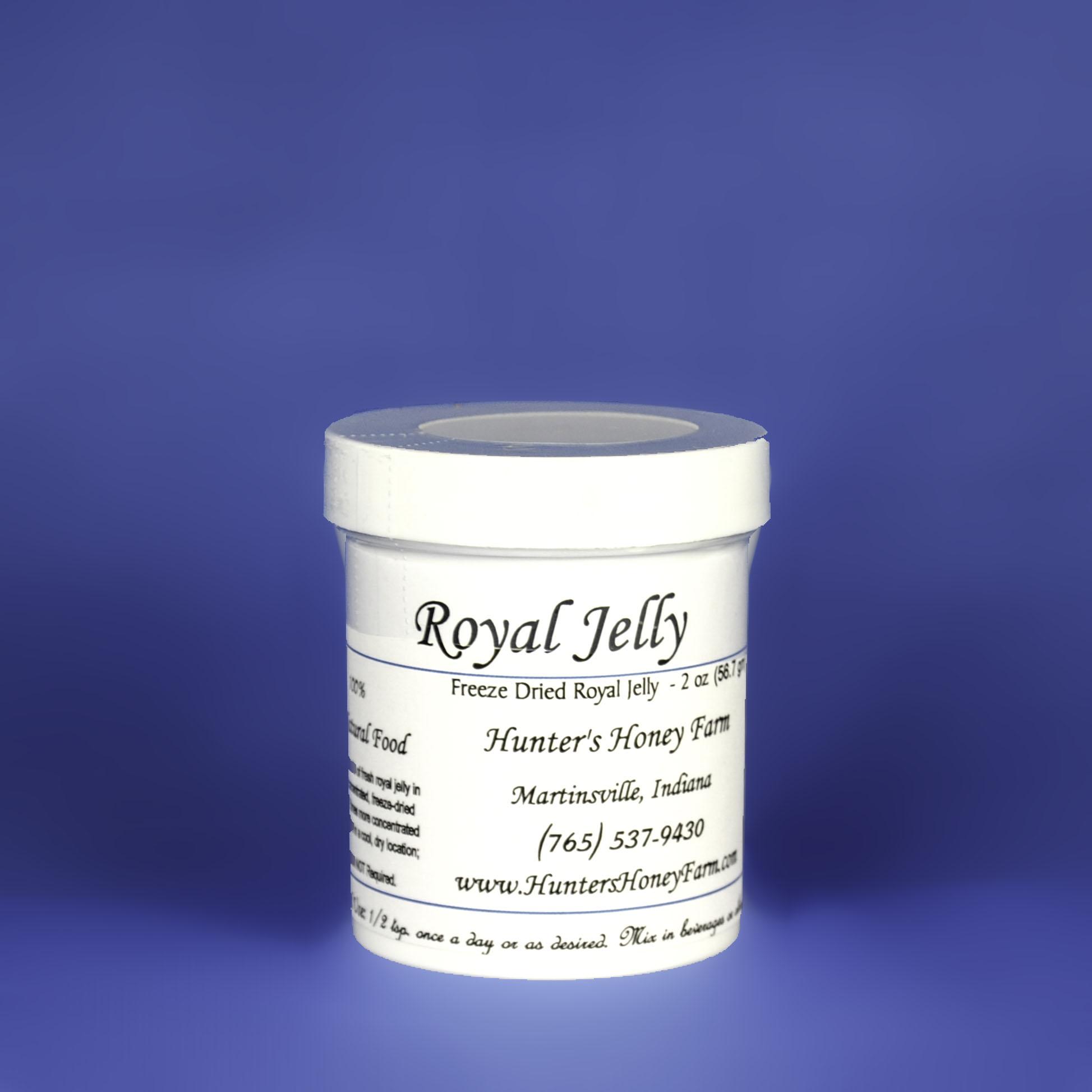 Royal Jelly Powder Honey, 2 oz