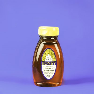 Clover Honey 8 oz bottle