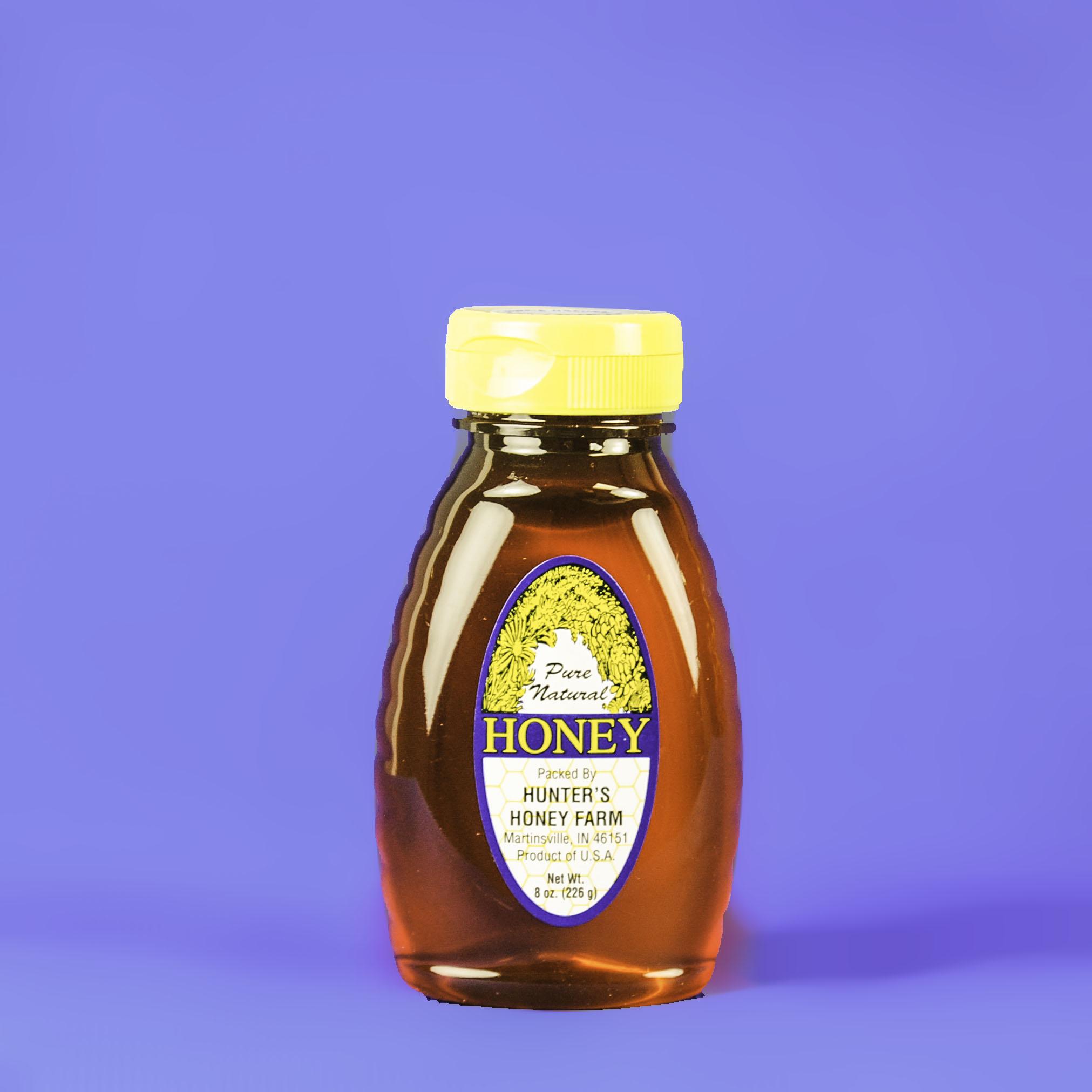 Clover Honey 8 oz bottle