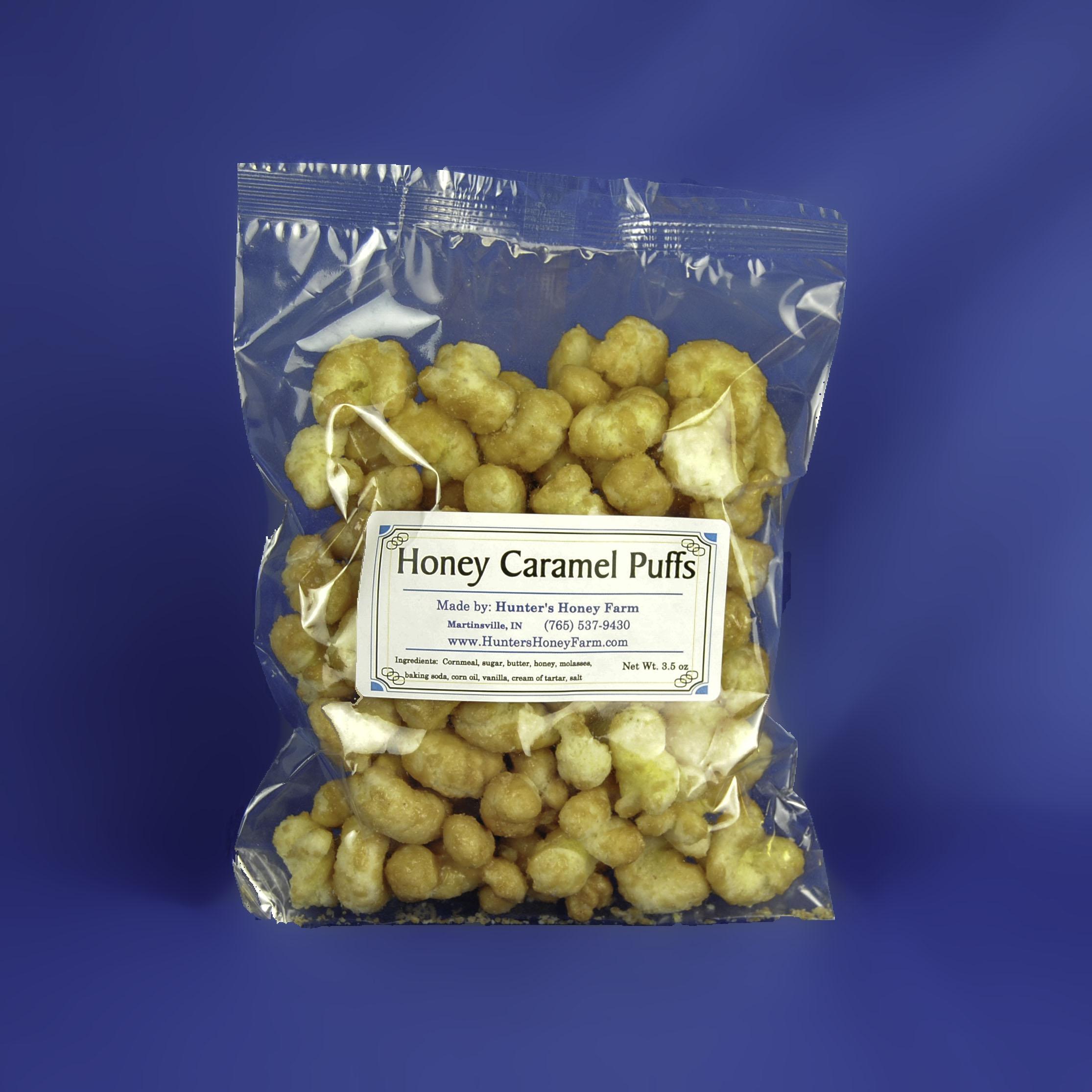 Honey Caramel Puffs