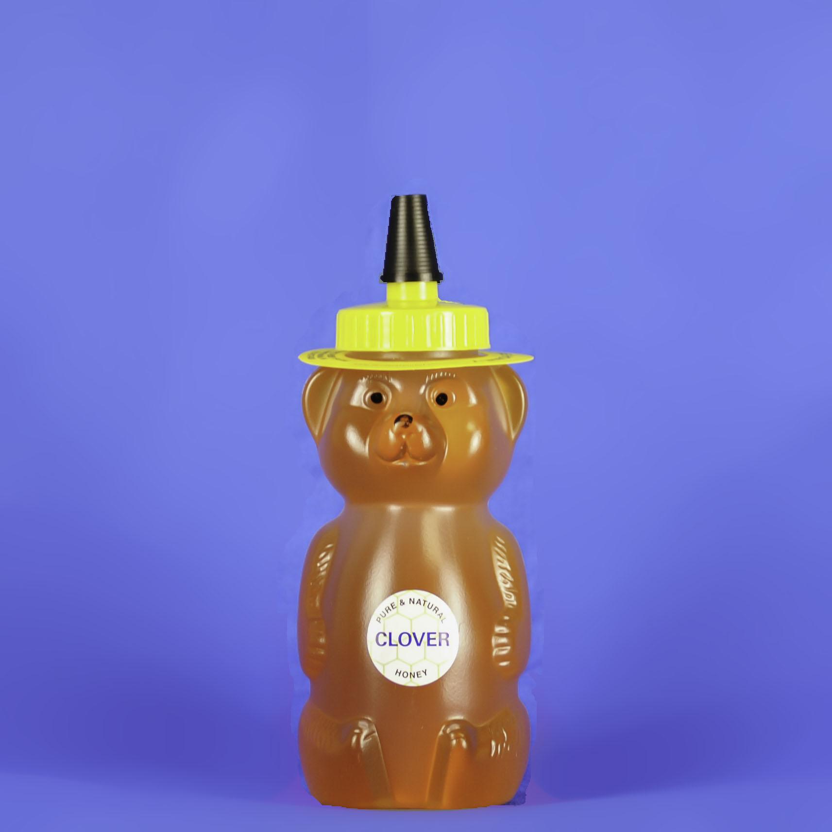 Clover Honey 12 oz Bear Bottle