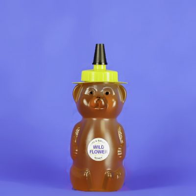 Wildflower Honey 12 oz Bear Bottle