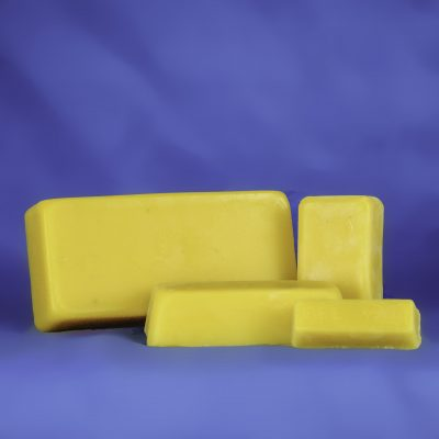 Bulk 100% Pure Beeswax 16 Ounce Block