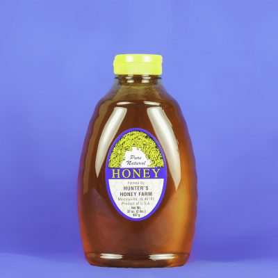 Clover Honey 2 lb Bottle