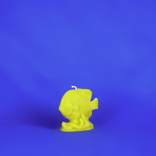 Beeswax Fish Candle