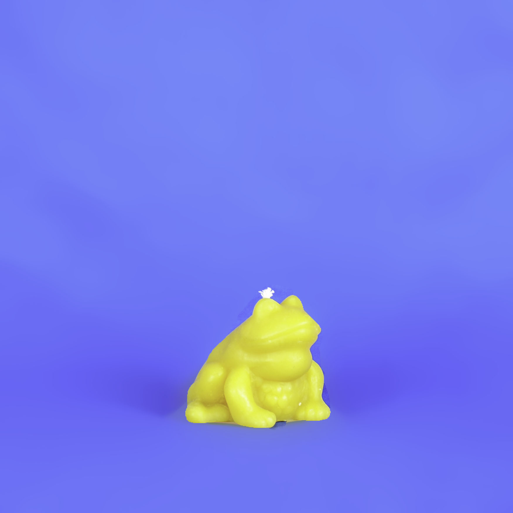 Beeswax Frog Candle